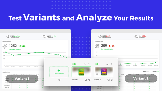 Easily Set Up Multivariate Tests & Check In On Your Analytics