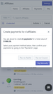 Simple Affiliate - Mobile Payment Create