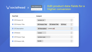 Edit product data fields for a higher conversion