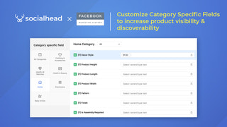 Bulk assign Product Categories, fully customize your feed