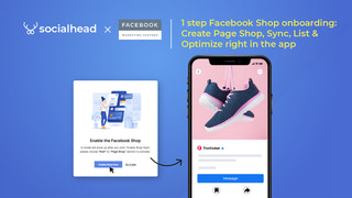 Create Facebook Shop in 1 click