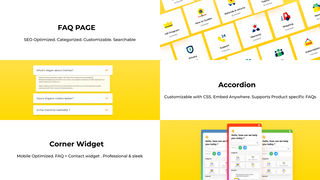 Categorize your FAQ & Help Center Articles, embed FAQ accordions