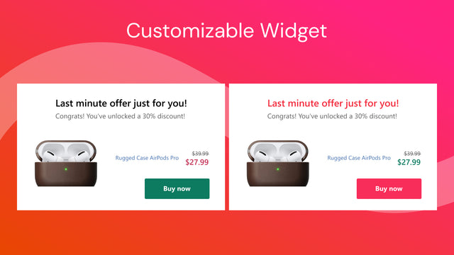 upsell after checkout for shopify - widget