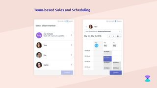 Team-based scheduling