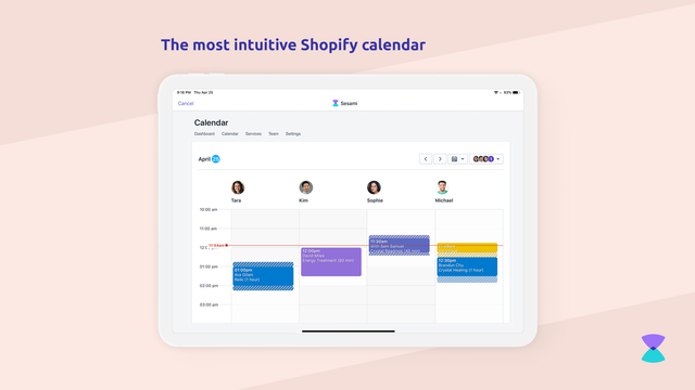 The most intuitive Shopify calendar