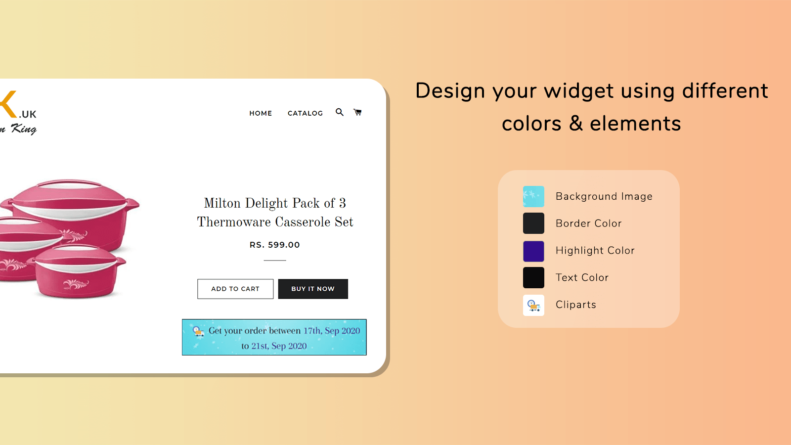 Text and background decoration