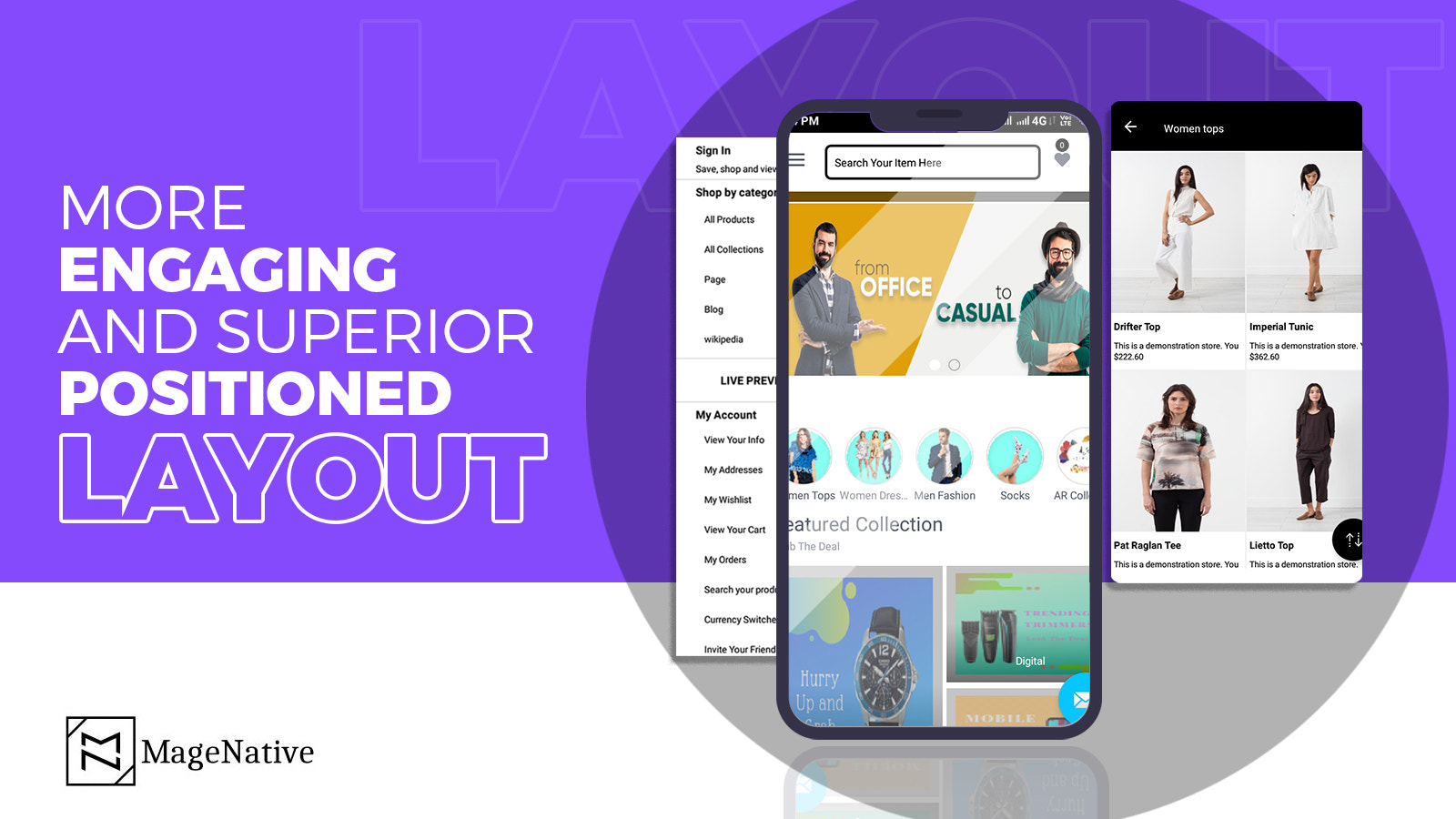 Magenative Shopify Mobile App Android