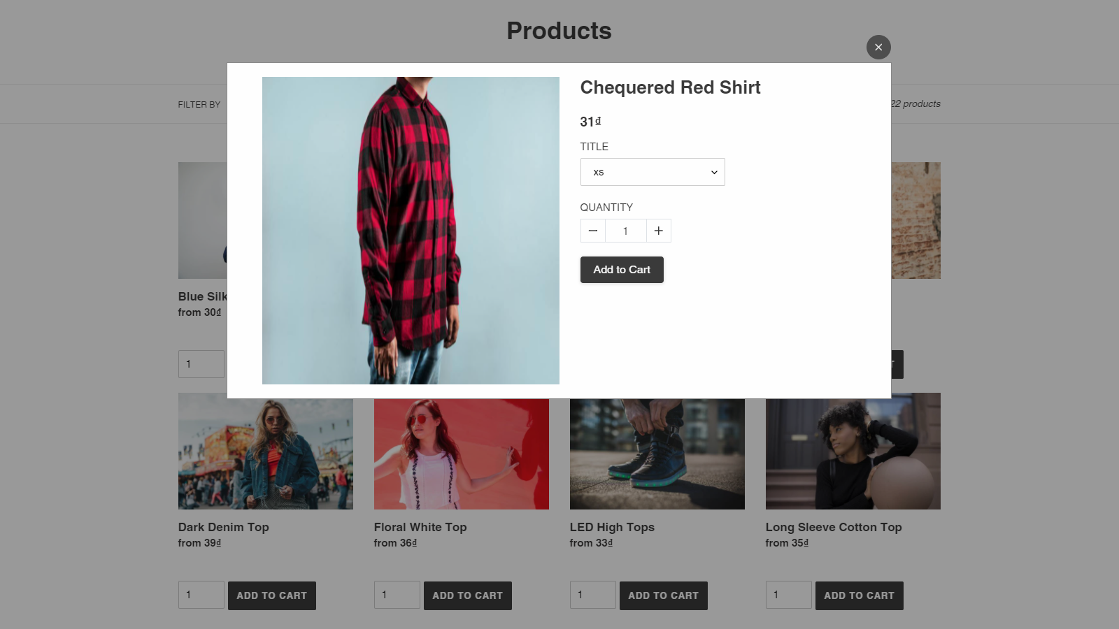 Ajax cart popup while adding product to cart