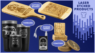 teelaunch has laser etched products