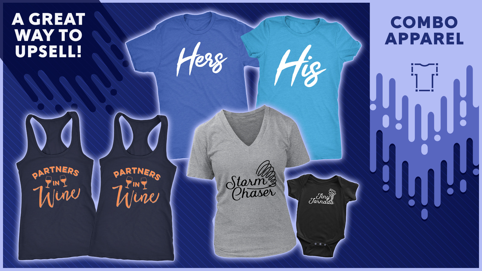Combo apparel: Great way to upsell