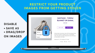 Image Protector Save as, Drag and Drop Disable