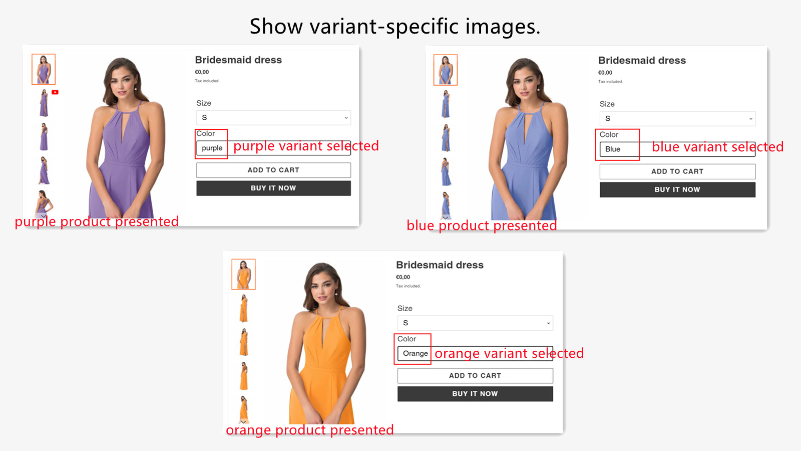 Variant images