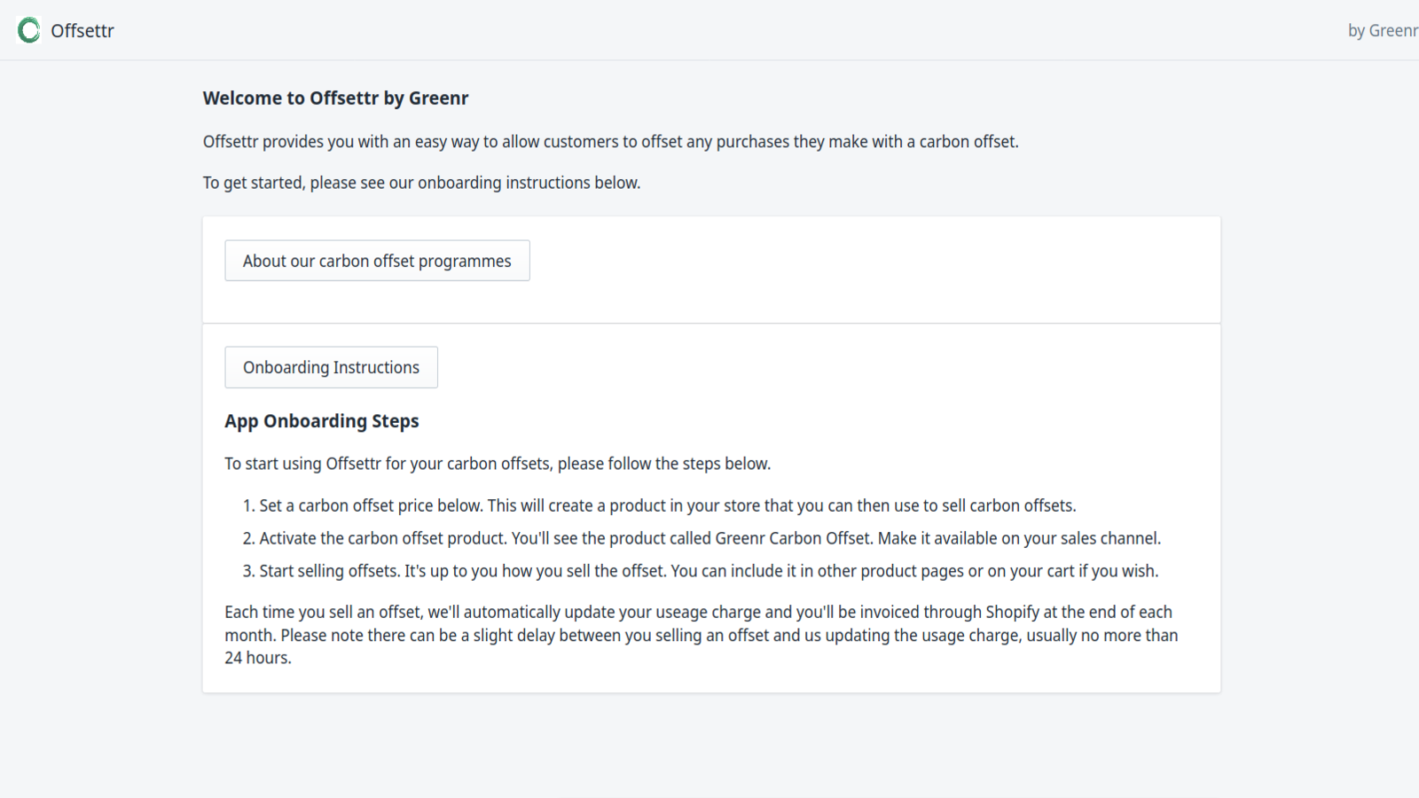 Onboarding and set up