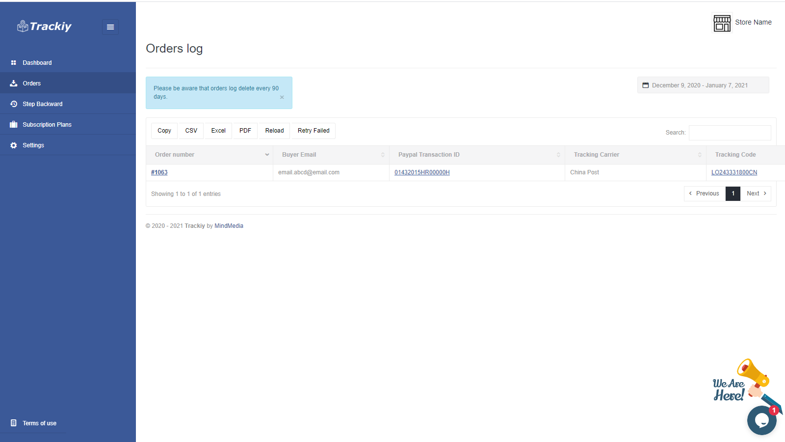 how to add tracking number on paypal shopify tracking number