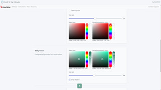 Customize colors of the button