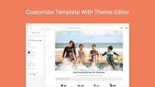 Customize Template Design with Plenty of Section Options