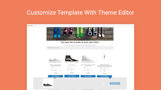 Customize Template With Theme Editor