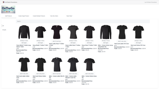 Select from all of the most popular apparel brands