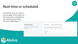 Real-time or scheduled