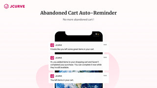 No More Abandoned Cart & Auto Reminder