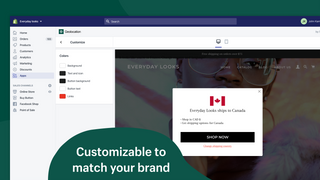 Customizable to match your brand