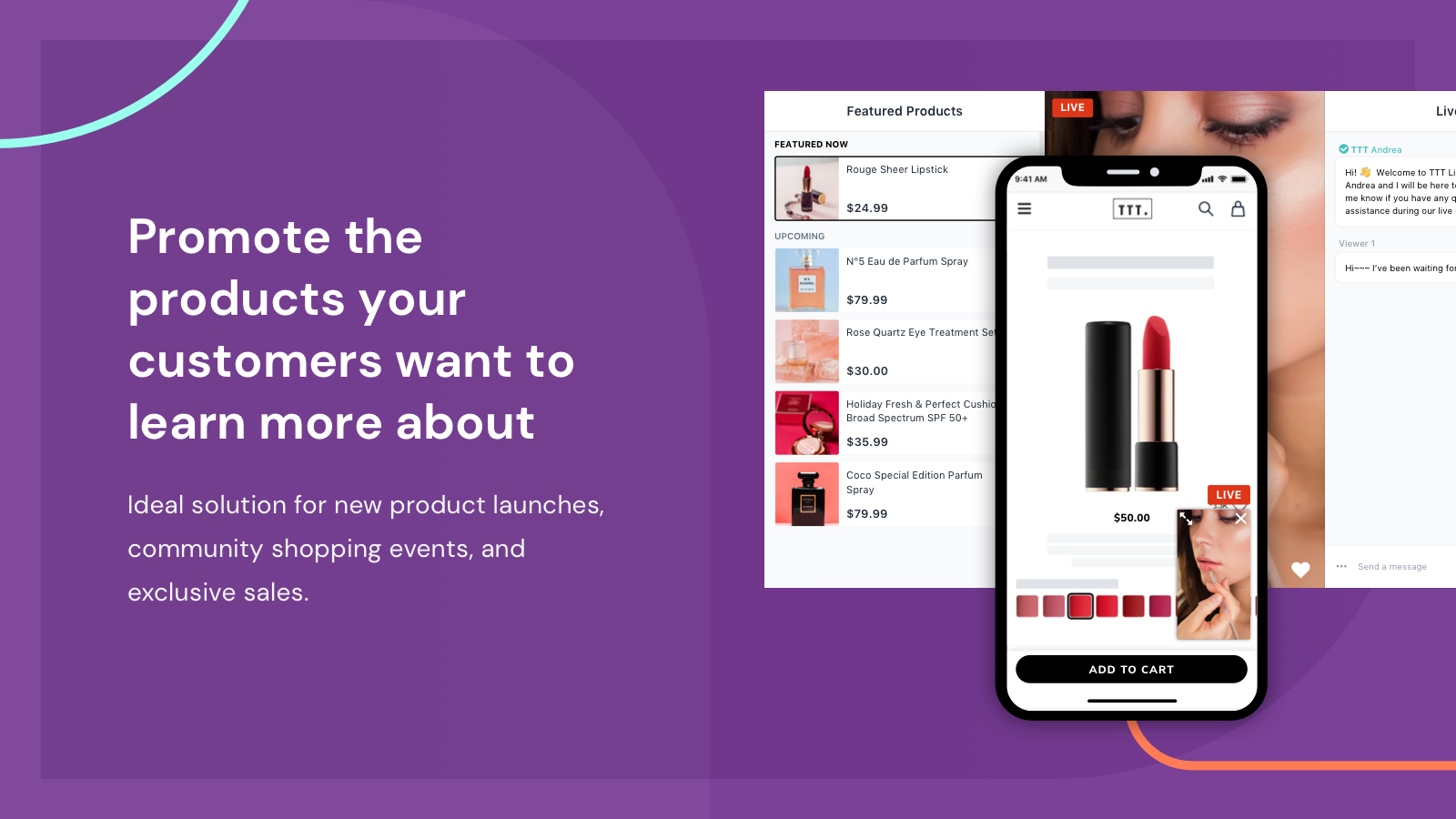 Promote the products your customers want to learn more about