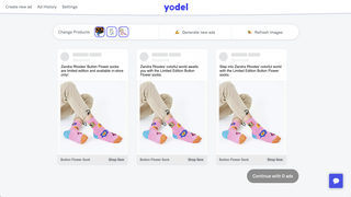 Watch as Yodel automagically generates your Facebook Ads