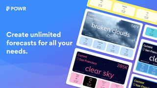 Create unlimited forecasts for all your needs.