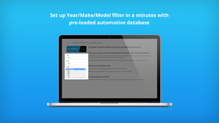 Set up Year Make Model search widget in a minutes