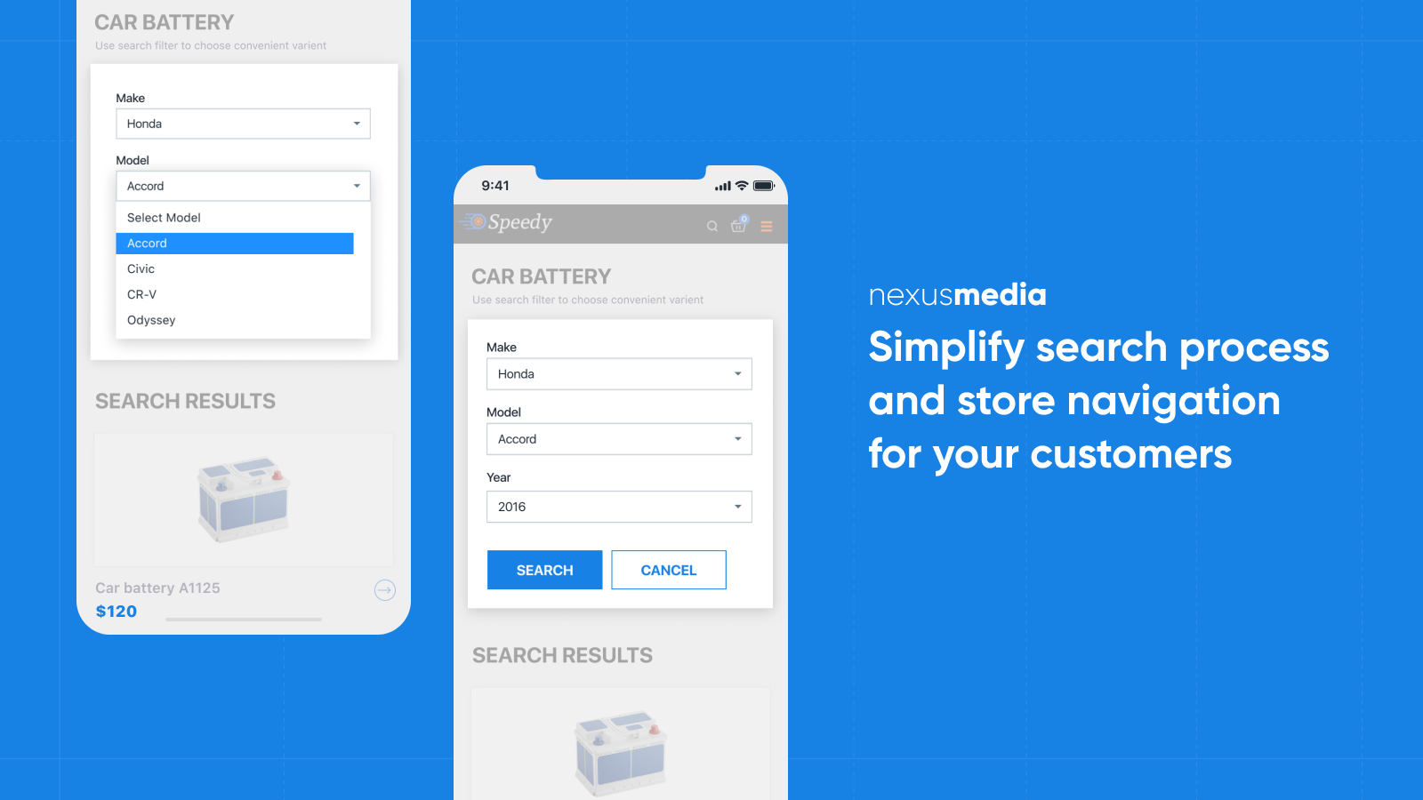 Simplify search process and store navigation for your customers