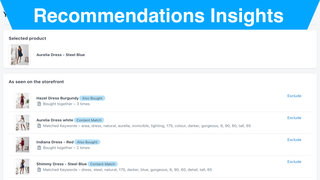 Recommendations Insights