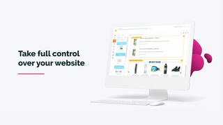 Take full control of your website