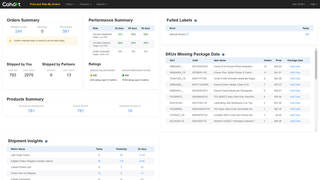Cahoot Merchant Dashboard