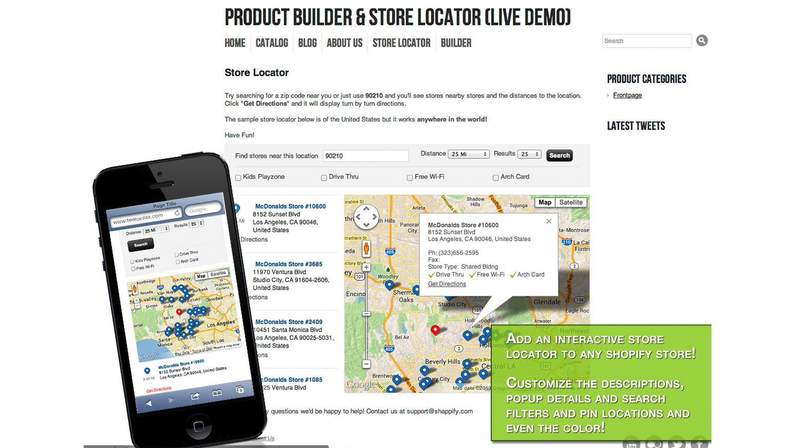 See Bold Store Locator in action