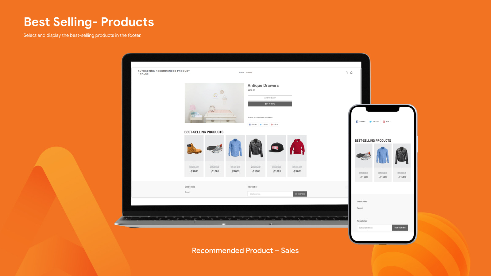 BEST-SELLING PRODUCT - RECOMMENDED PRODUCTS