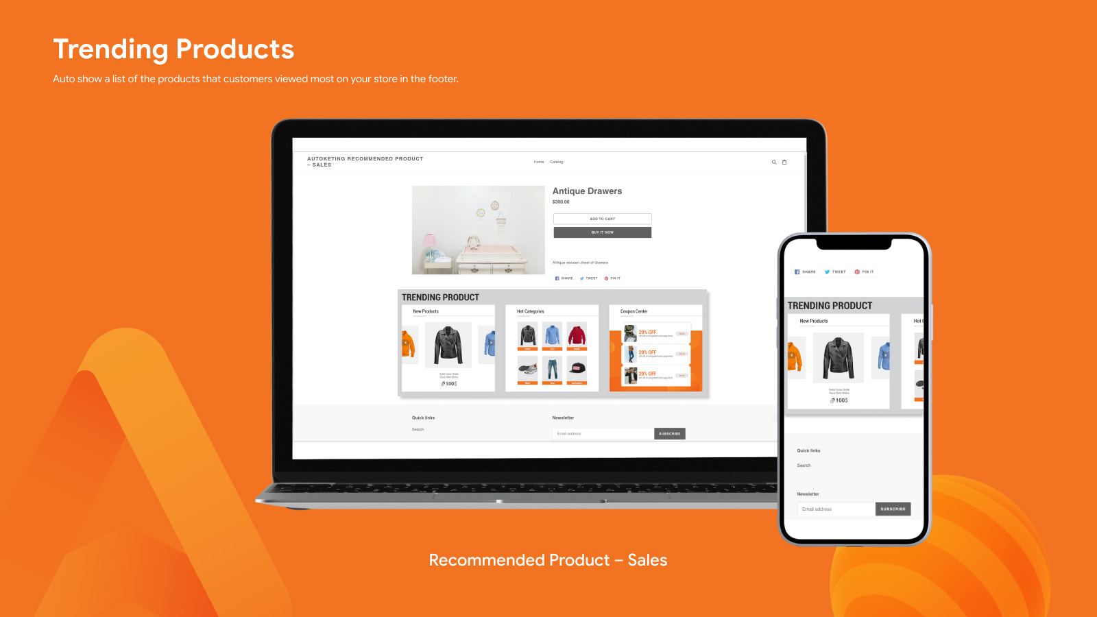 TRENDING PRODUCT - RECOMMENDED PRODUCTS