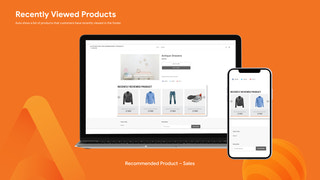 RECENTLY VIEWED PRODUCT - PERSONALIZED RECOMMENDATIONS