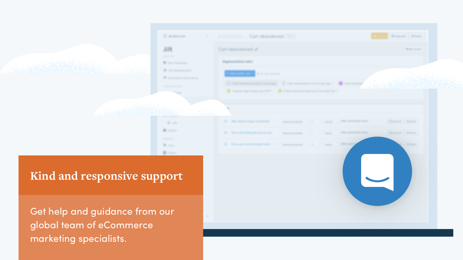 Get support and advice from our kind & responsive support team