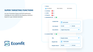 Ecomfit Super Targeting Functions