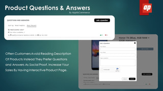 Product Questions And Answers