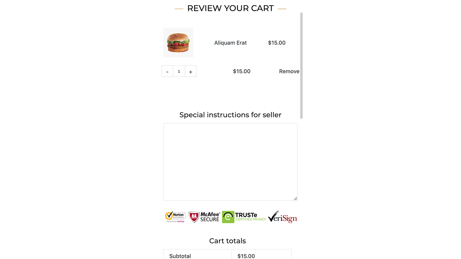 Nitro cart related Mobile