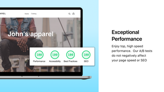 Elevate A/B Testing has zero impact on website load time