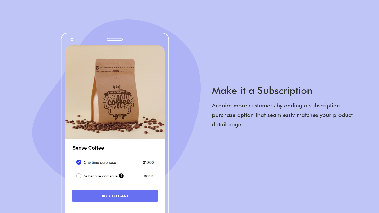 Add a subscription purchase option - Subscriptions