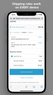 Better Shipping mobile friendly works on all mobile devices