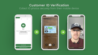 Real ID verifies your customer's identity with photo uploads