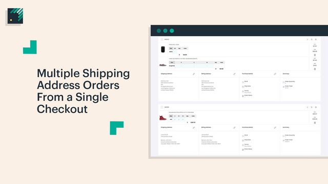 Multiple Shipping Address Order Creation For Wholesale Orders