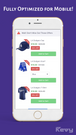 Last-Step cross sell is fully optimized for mobile devices