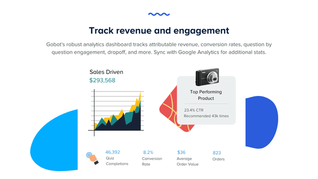 Track revenue and engagement