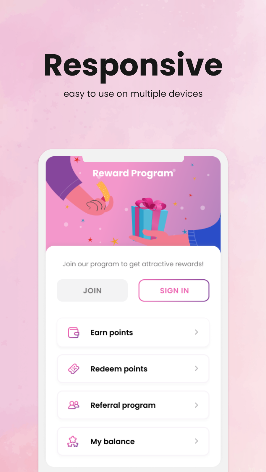 use loyalty program on multiple devices