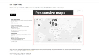 Make responsive google maps